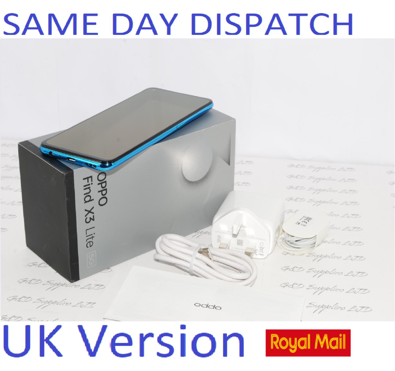OPPO FIND X3 LITE 5G FACTORY UNLOCKED 8GB RAM 128GB ASTRAL BLUE CPH2145 UK version #