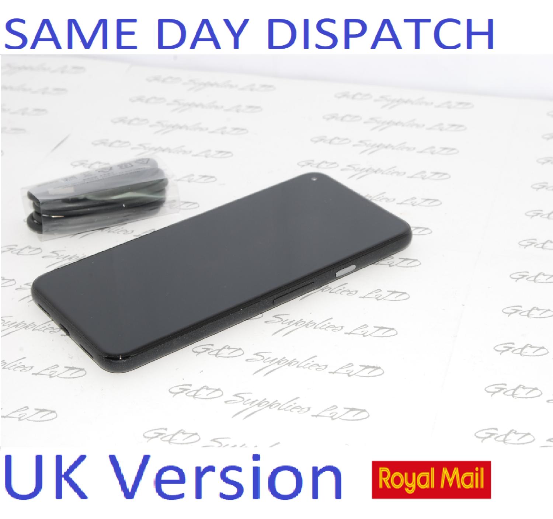 Google Pixel 5 5G (2020) GTT9Q 128GB Black Unlocked  UK version NO BOX