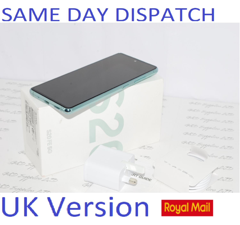 SAMSUNG Galaxy S20 FE 5G SM-G781B/DS unlocked 128GB Cloud Mint UK Version #
