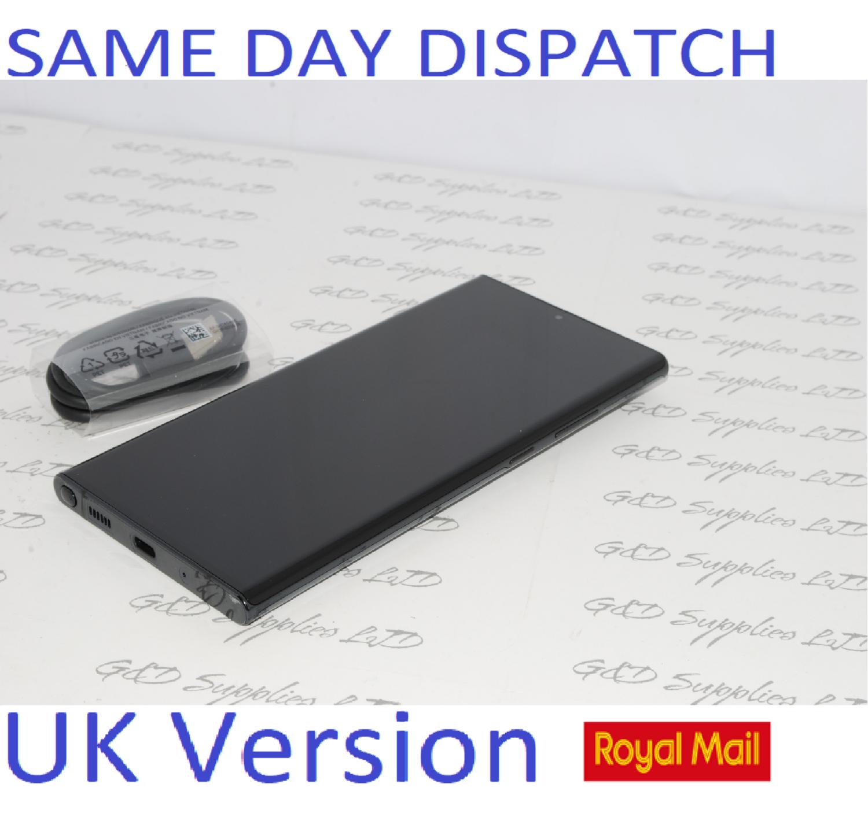 Samsung Note 20 Ultra 5G SM-N986B/DS  256GB  Mystic Black UK Version NO BOX