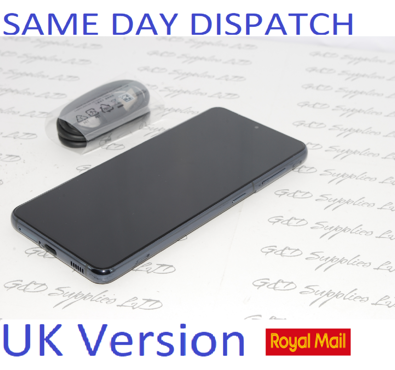 SAMSUNG S21 5G SM-G991B/DS 128GB Grey unlocked Dual Sim UK Version NO BOX