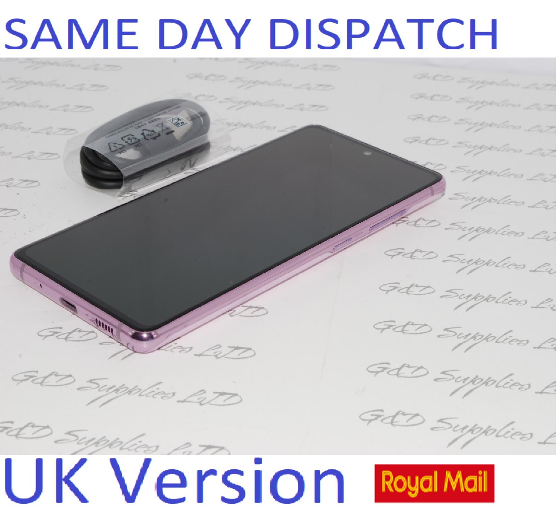 SAMSUNG Galaxy S20 FE 4G SM-G780F/DS unlocked 128GB Cloud Lavnder UK Version NO BOX