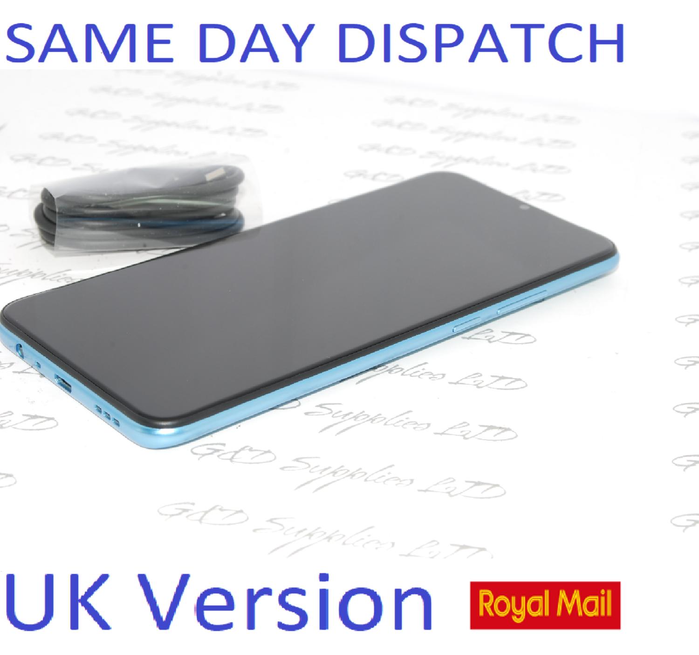 "OPPO A15 64GB SIM-free Smartphone 6.5"" HD LCD Touchscreen Dual Sim Unlocked Blue UK version NO BOX"
