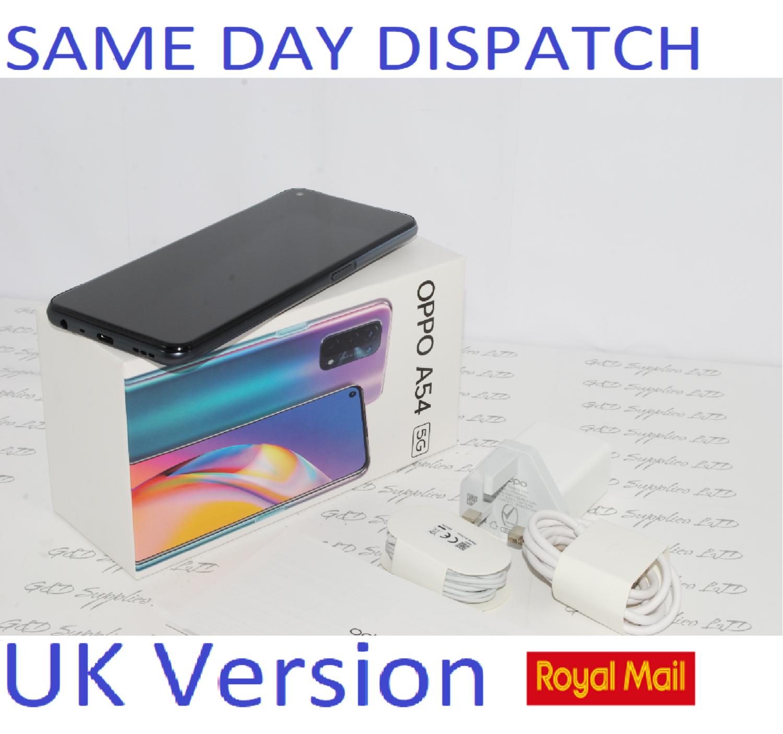 OPPO A54 5G Mobile Smart Black 64GB NFC  Dual Sim Unlocked UK version #