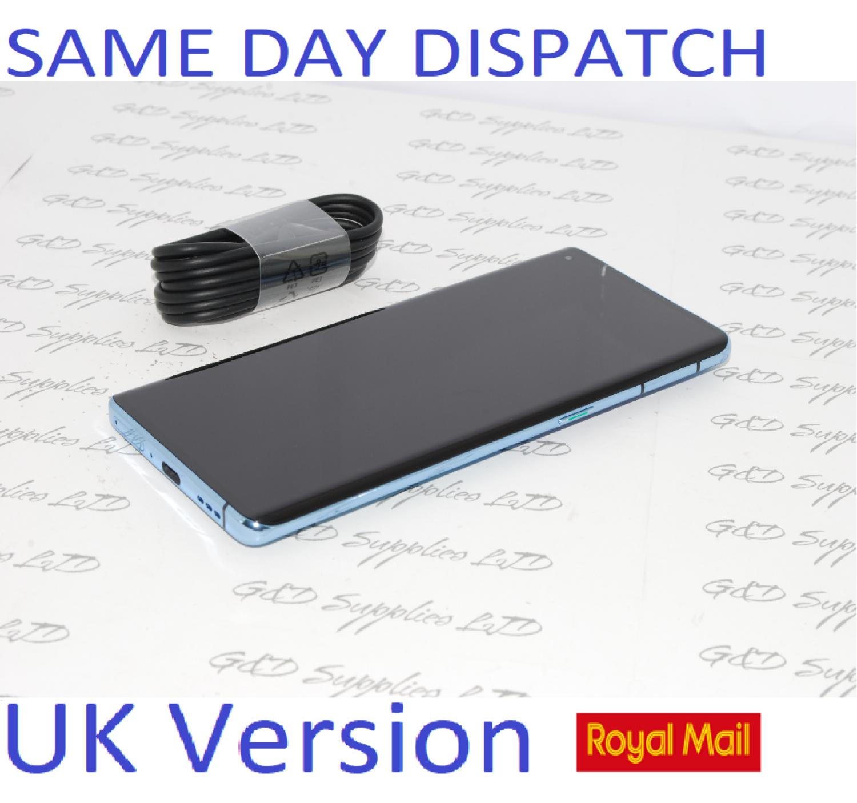 """Oppo Reno 4  Blue 6.4"""" 128GB Dual SIM 5G Android 8GB RAM Sim Free Unlocked UK version NO BOX"""