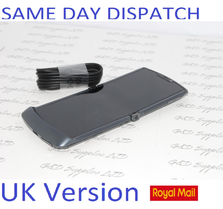 # Motorola Razr 5G Dual-SIM XT2071-4 256GB 8Gb Dual SIM Unlocked SIM Free UK Version NO BOX
