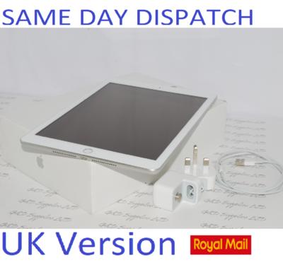 Apple iPad 6th Gen. 32GB, Wi-Fi + Cellular 4G unlocked MR702B/A UK Version #