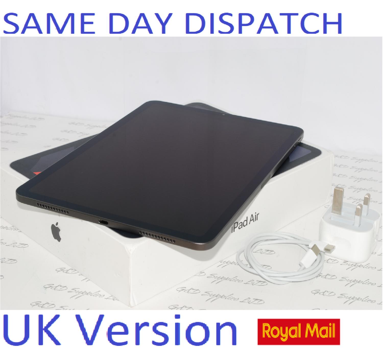 "Apple iPad Air with Apple  4th Gen. 256GB, Wi-Fi, 10.9"" MYFT2B/A  Space Grey UK Version #"