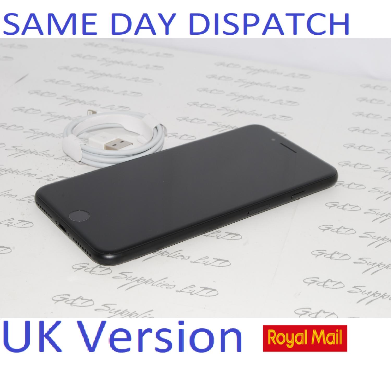 Apple iPhone 7 Plus - 32GB Unlocked Black SIM Free UK Version NEW Condition NO BOX