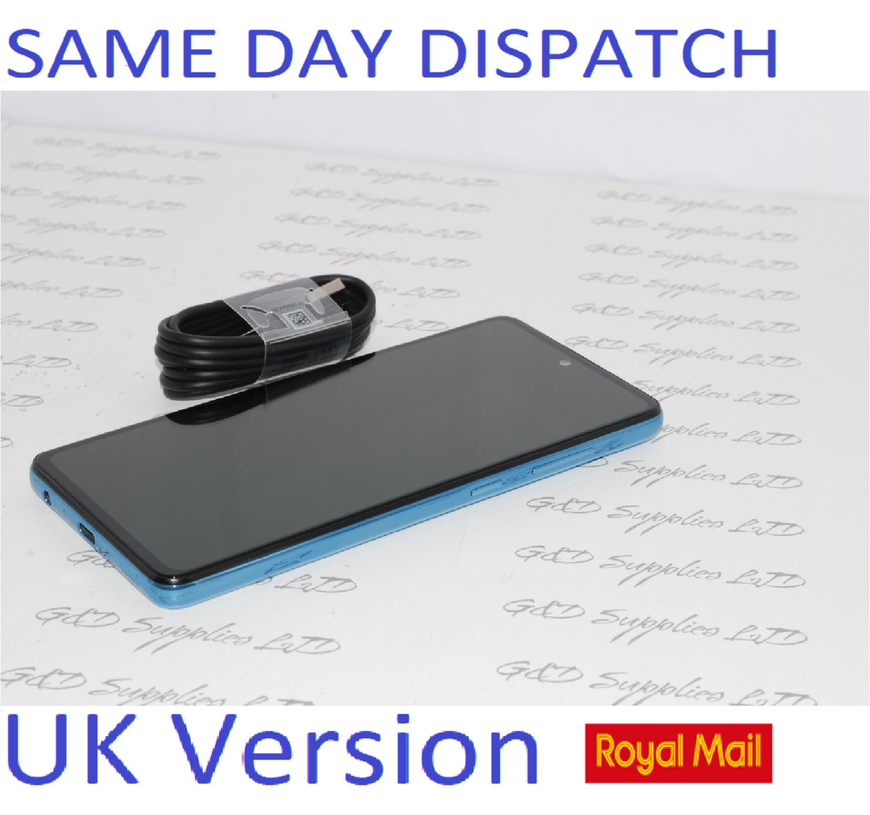 SAMSUNG GALAXY A52 5G SM-A526B/DS UNLOCKED 6GB RAM 128GB blue UK Version NO BOX