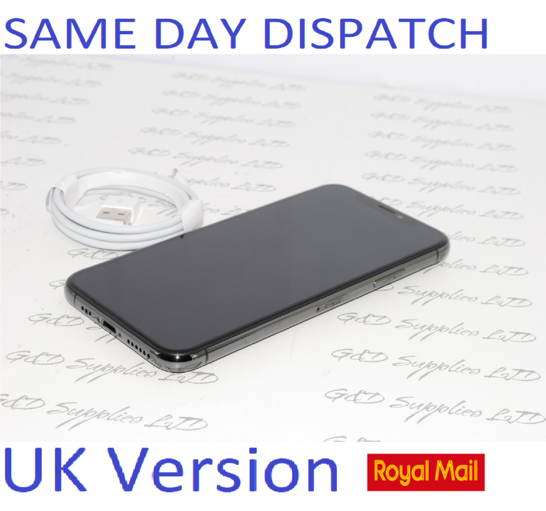Apple iPhone XS 64GB Space Grey Black SIM Free UK Version New condition NO BOX