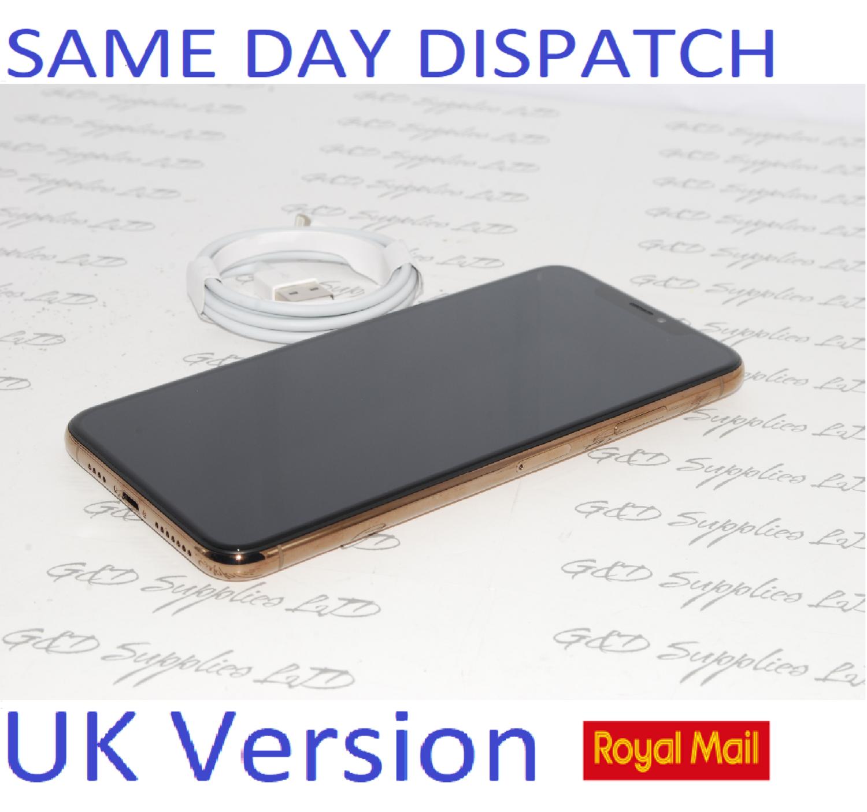 Apple iPhone XS MAX 64GB Gold SIM Free UK Version New condition NO BOX
