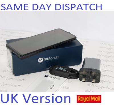 MOTOROLA EDGE 20 LITE 5G XT-2139-1 8GB Ram Dual SIM Graphite Sim Free NFC UK version #