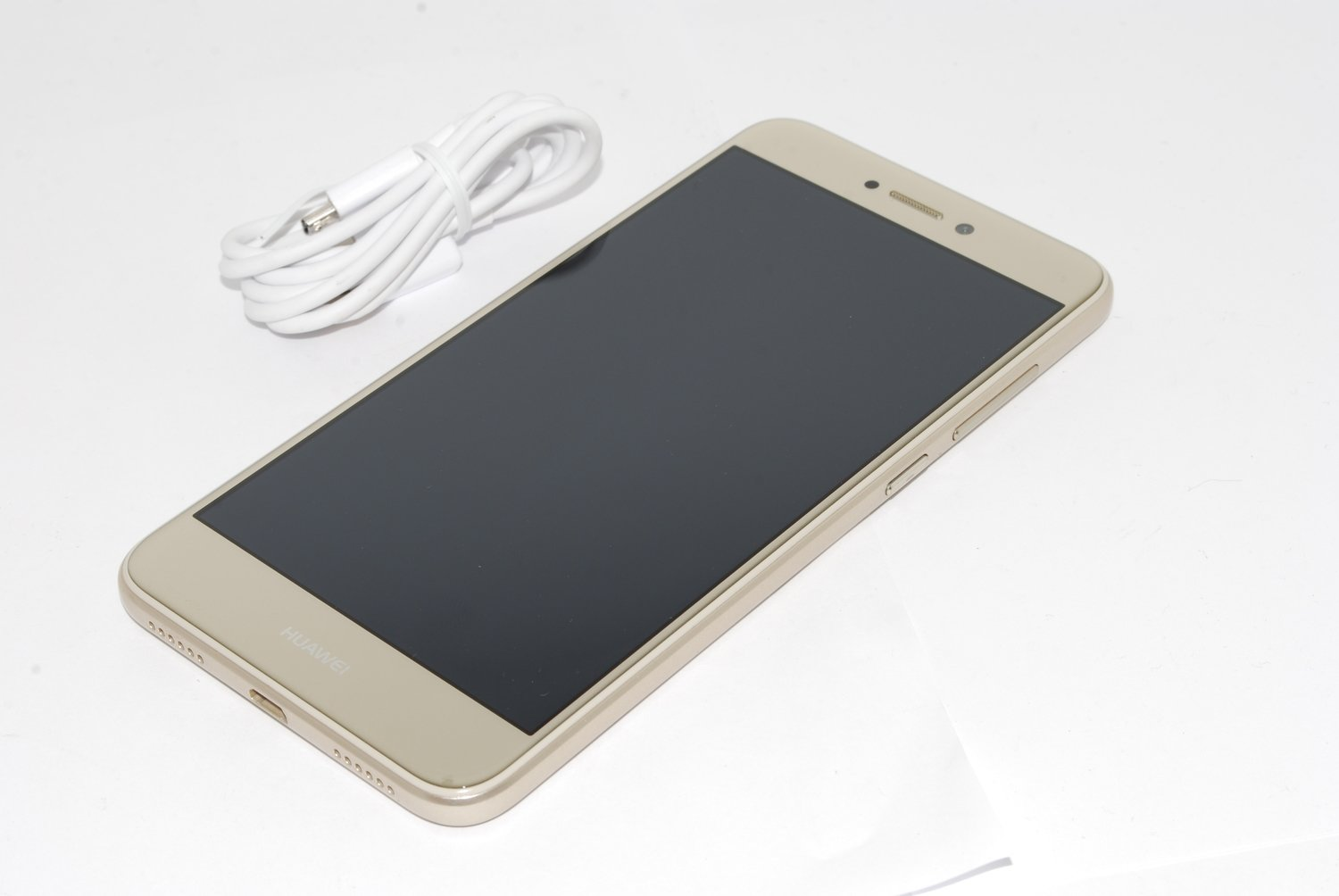 """Huawei P8 Lite (2017) 16GB Android 5.2""""4G GPS  Unlocked Smartphone GOLD NO BOX"""