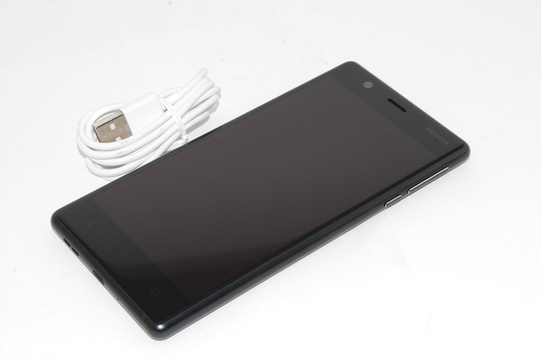 "NOKIA 3 TA-1020SS Black 5"" HD 2GB RAM 16GB FACTORY UNLOCKED 4G LTE NO BOX #"