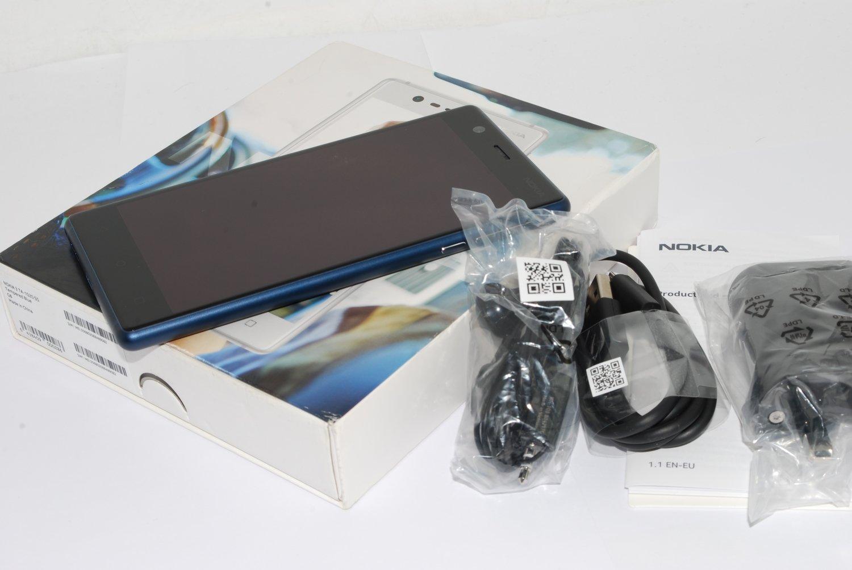 """NEW NOKIA 3 TA-1020SS Blue 5"""" HD 2GB RAM 16GB FACTORY UNLOCKED 4G LTE Sim-free"""