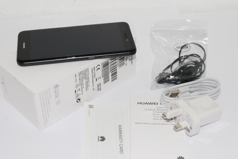 "Huawei P8 Lite (2017) 16GB Android 5.2""4G GPS WIFI Unlocked Smartphone Sim-Free Black #"