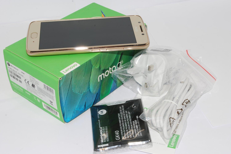 New Motorola Moto G5 Gold Xt1675 16GB 4G LTE WIFI NFC 13MP UK STOCK