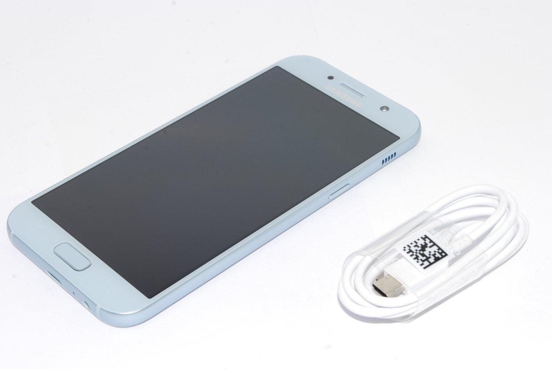 Samsung Galaxy A5 3GB 32GB 2017, Mobile Phone BLUE unlocked UK STOCK