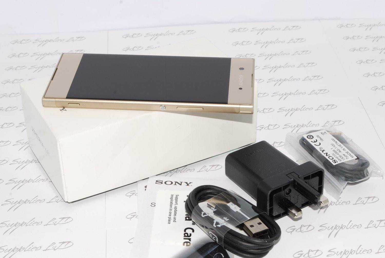 Sony Xperia XA1 G3121 gold Android 32GB 4G WIFI GPS NFC Unlocked Smartphone uk stock #