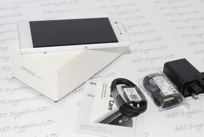 NEW Sony Xperia XA1 G3121 white Android 32GB 4G WIFI GPS NFC  Unlocked Smartphone uk stock