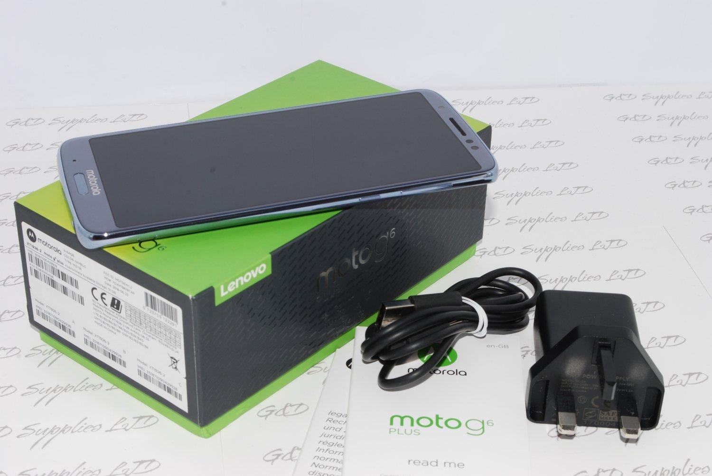 Motorola Moto G6 Plus 6th Generation NIMBUS 64GB (Unlocked) UK stock