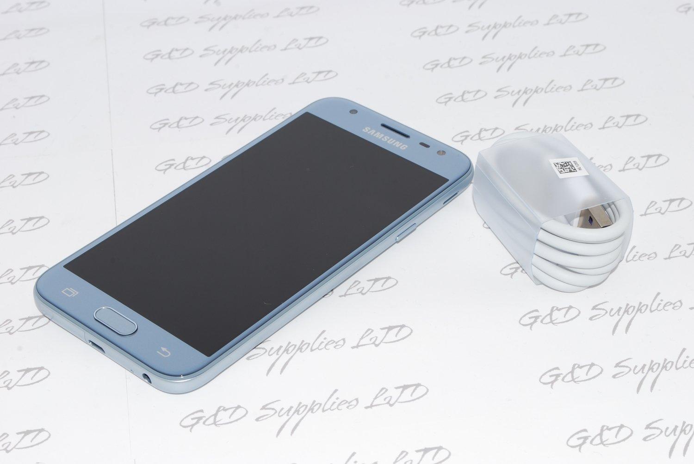 Samsung Galaxy J3 5 2017 SM-J330FN 16GB UNLOCKED Blue  4G LTE 13MP UK STOCK