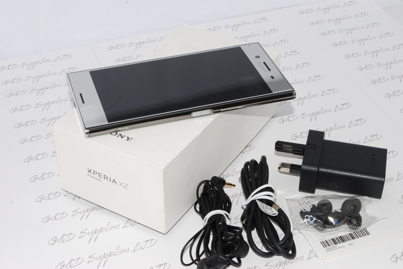 Sony Xperia XZ Premium 64GB 5.5-Inch UK SIM-Free Smartphone - Luminous Chrome