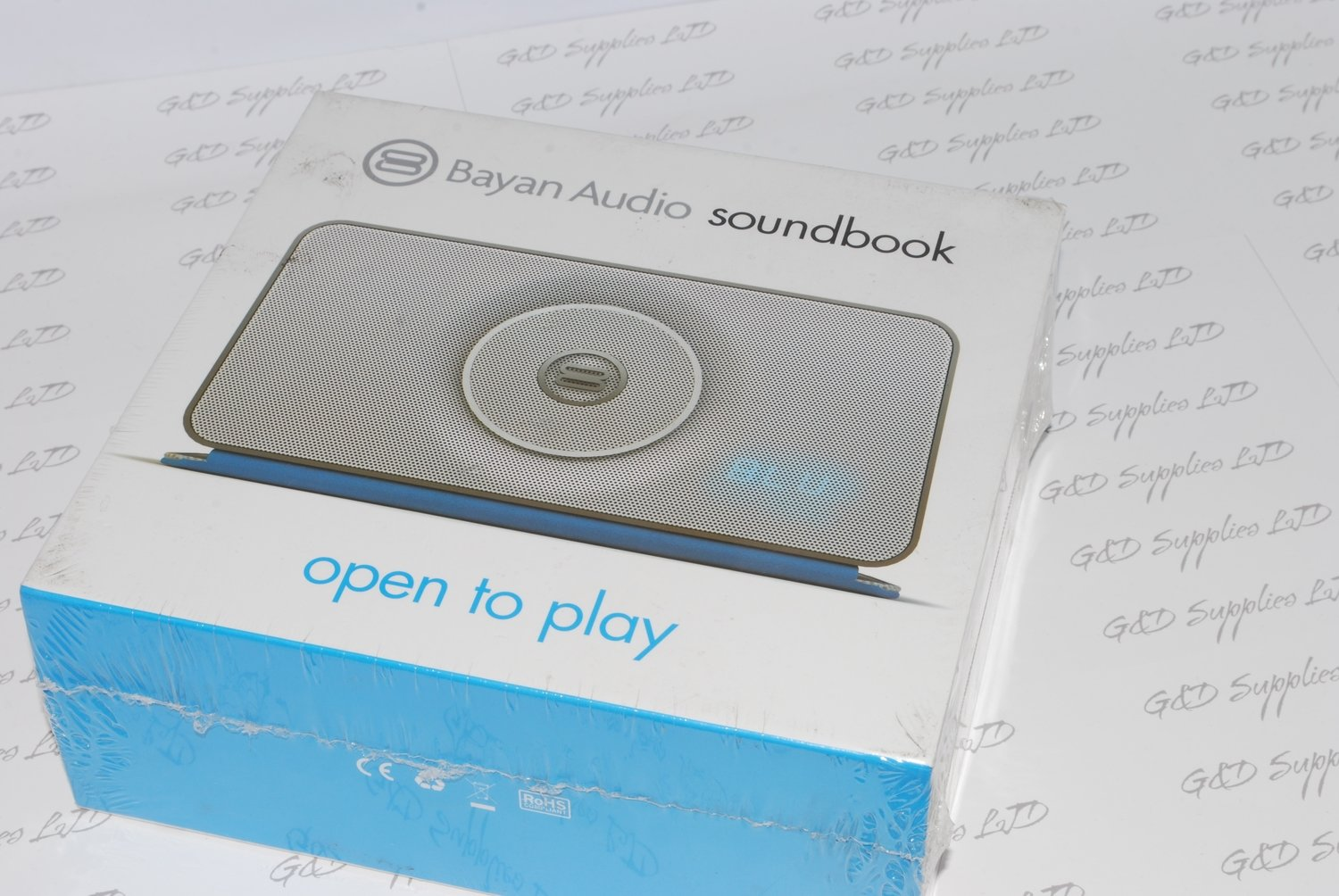 Bayan Audio Soundbook Go Portable Bluetooth Wireless Speaker silver NFC Pairing