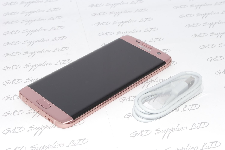 Samsung Galaxy S7 32GB  Edge G935F Unlocked SIM Free Smartphone PINK  UK NO BOX