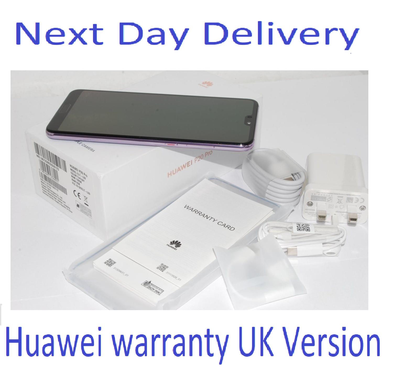 NEW Huawei P20 Pro (CLT-L09)  Twilight 128GB - 6GB RAM - Single Sim UK Stock