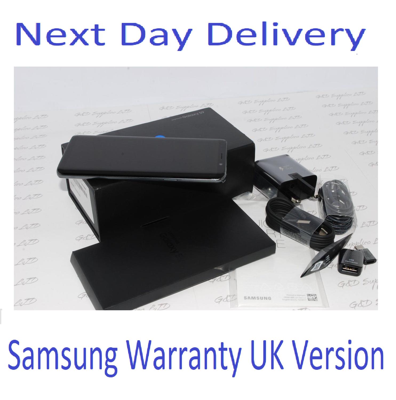 NEW Samsung Galaxy S9 GRAY  SM-G960F 64GB 4G Unlocked UK Version Single Sim