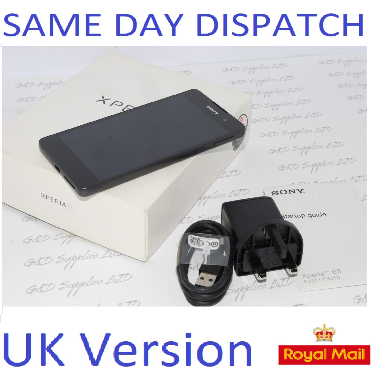 NEW Sony Xperia E5 F3311 16GB Android Smartphone Graphite Black UNLOCKED
