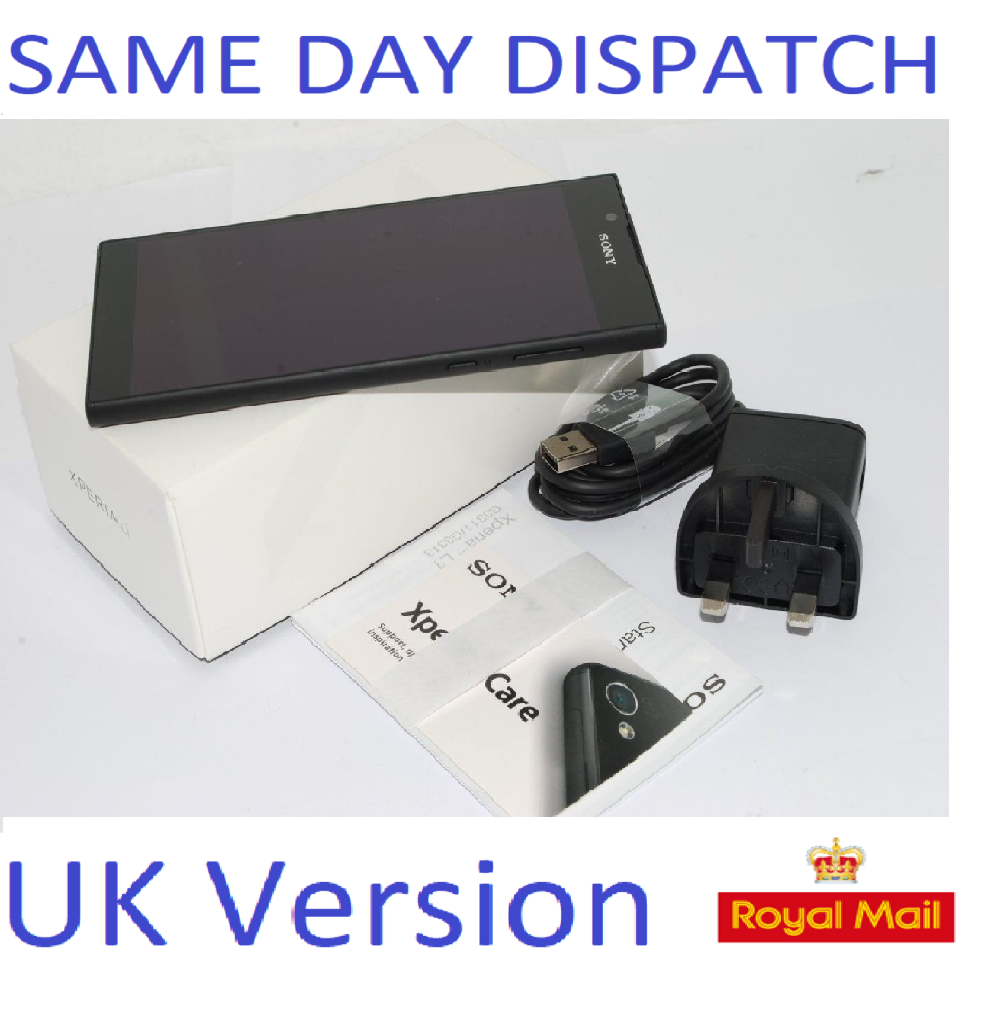 SONY XPERIA L1 G3311 16GB - 13MP CAMERA  4G BLACK UNLOCKED UK STOCK #