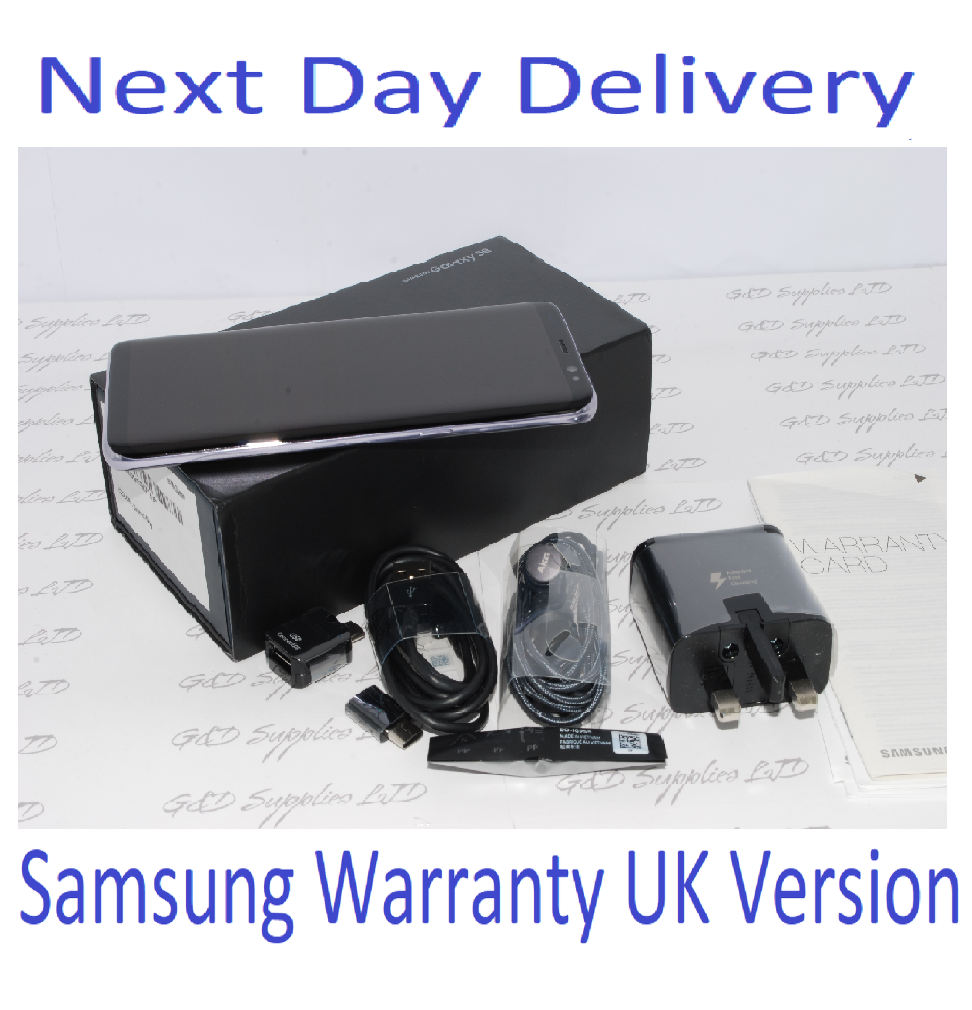 Samsung Galaxy S8 G950F GRAY 64GB UNLOCKED 4G LTE SIM FREE UK STOCK