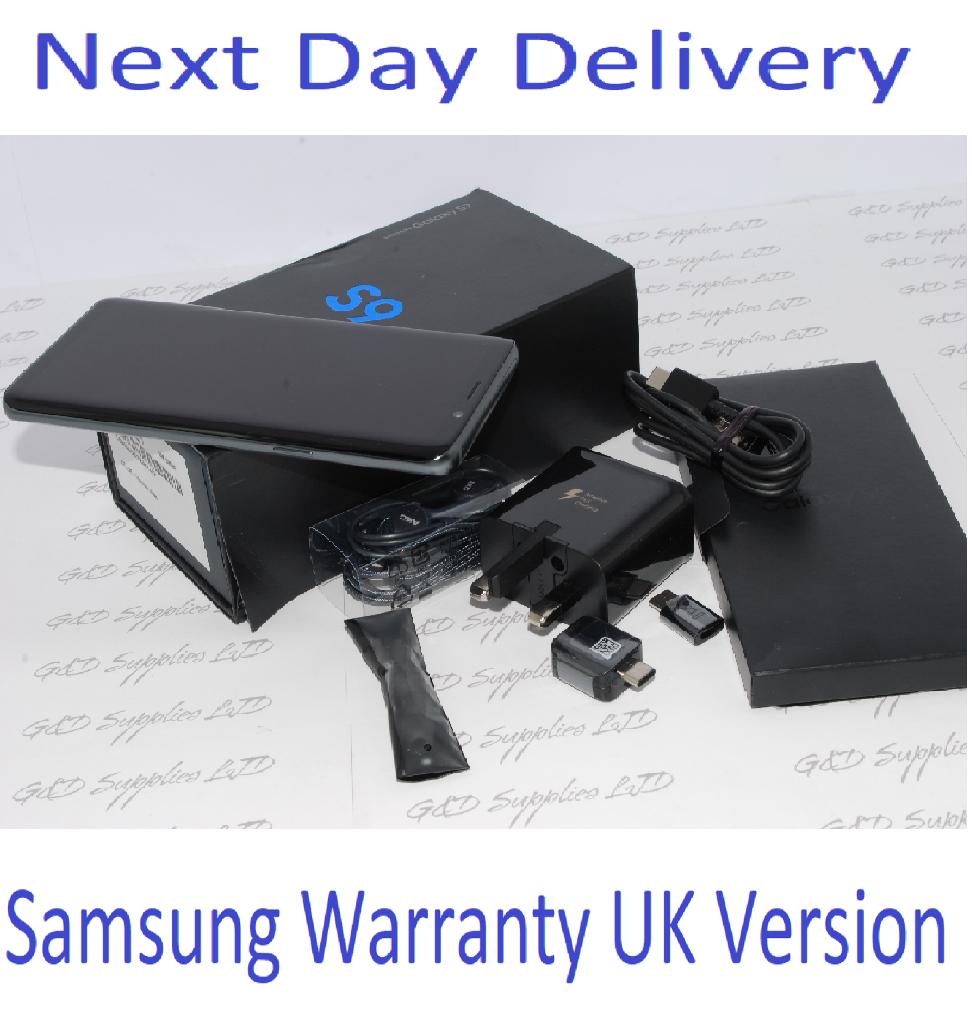 Samsung Galaxy S9 Gray SM-G960F LTE 64GB 4G Unlocked UK Single Sim #