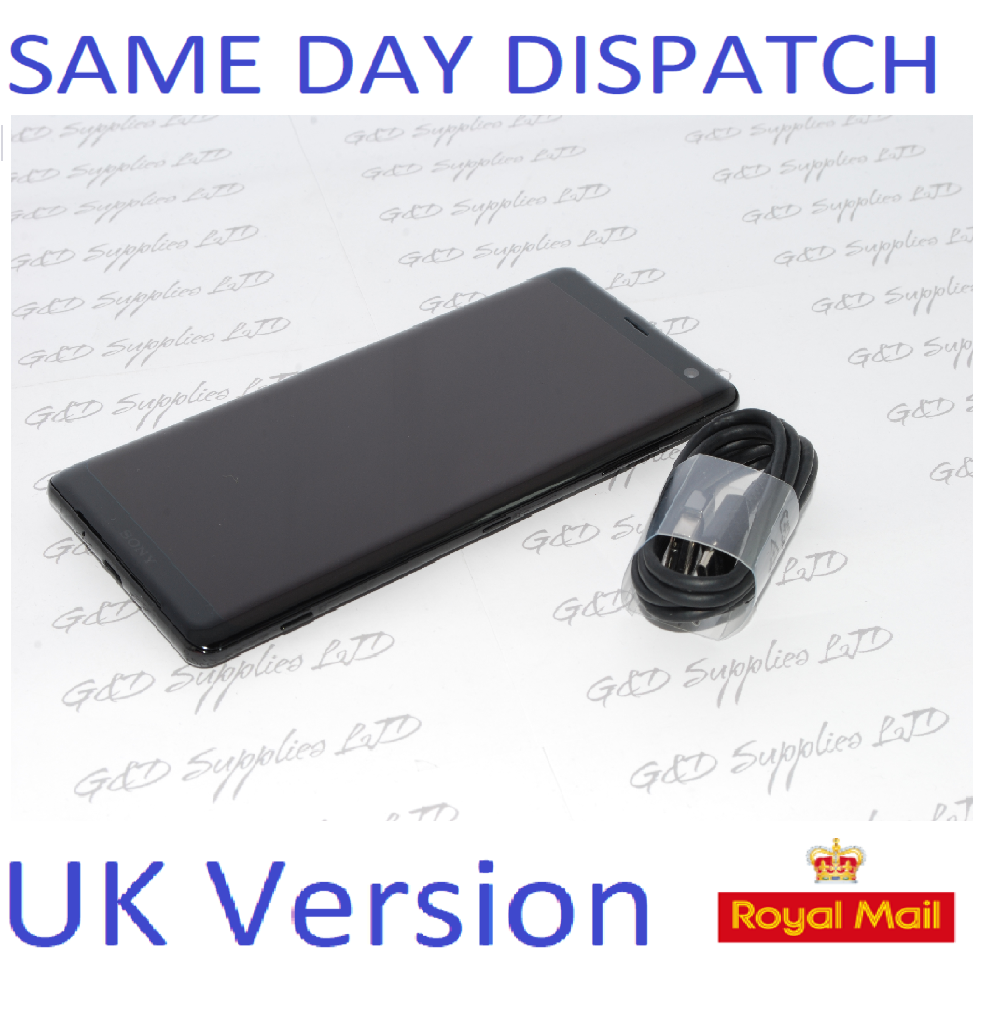 Sony Xperia XZ3 64GB SIM Free Unlocked black UK Smartphone  Single-SIM NO BOX #