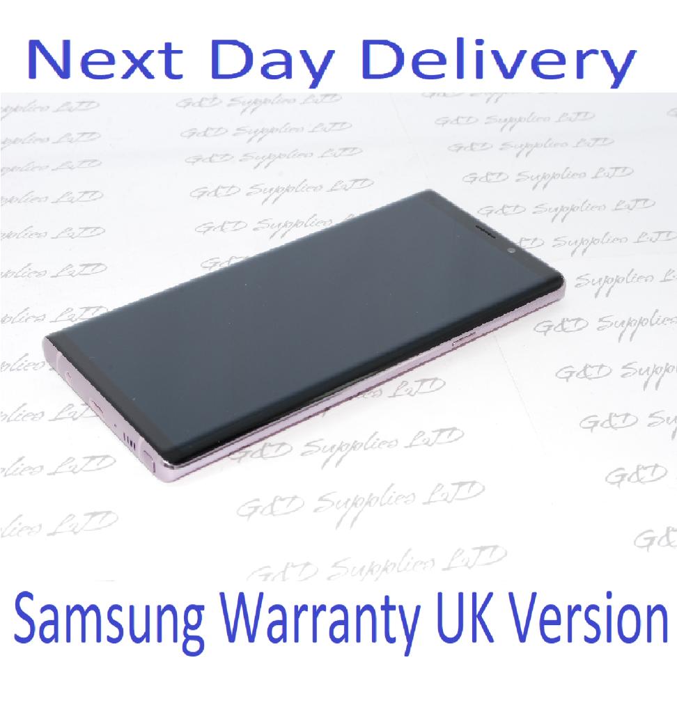 Samsung Galaxy Note 9 SM-N960 128GB PURPLE UNLOCKED Single SIM UK Version NO BOX #