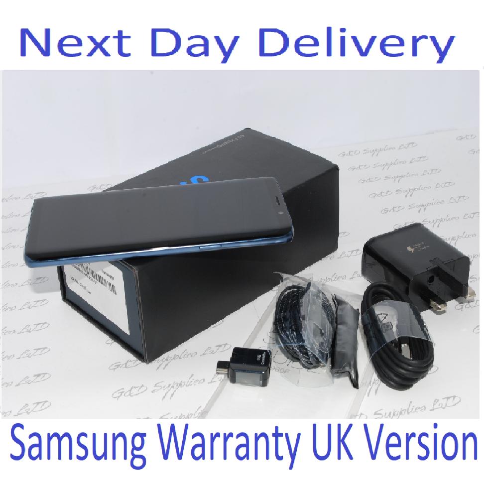 Samsung Galaxy S9 Blue  SM-G960F LTE 64GB 4G Unlocked UK Single Sim #