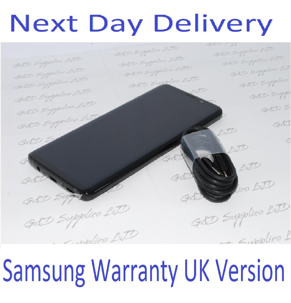 Samsung S9 Plus 6.2 Inch 4G 6GB 128GB Mobile Black Single Sim UK Stock no Box #