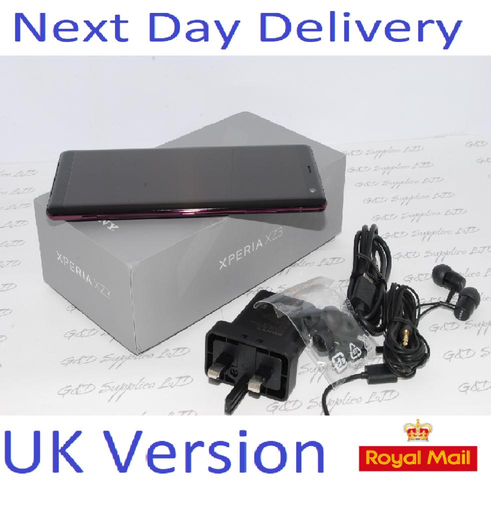 Sony Xperia XZ3 64GB SIM Free Unlocked UK RED Single-SIM #