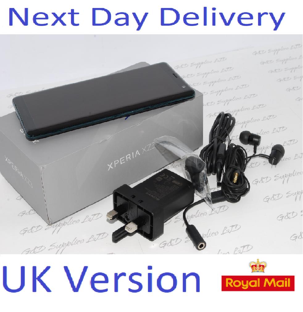Sony Xperia XZ3 64GB SIM Free Unlocked UK forest green Single-SIM #