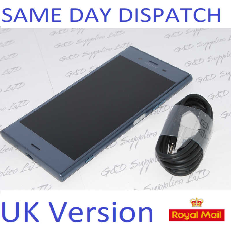 Sony Xperia XZ1 64GB G8341 SIM-Free Smartphone Blue NO BOX UK STOCK