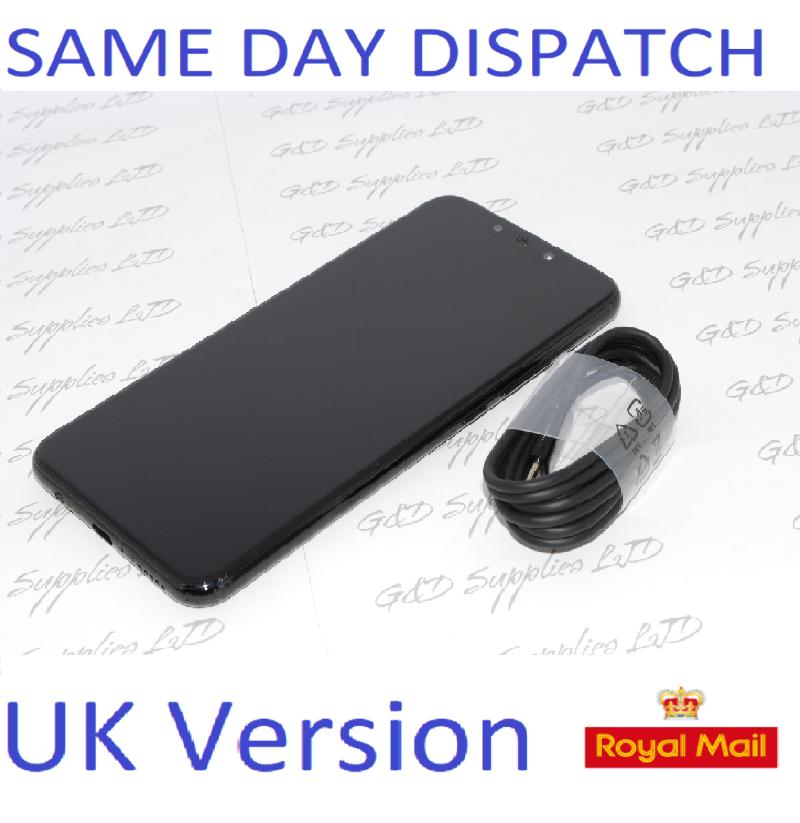 "Huawei Mate 20 Lite 6.3"" 64GB  24MP Dual AI Cameras UNLOCKED Black NFC UK version  NO BOX"
