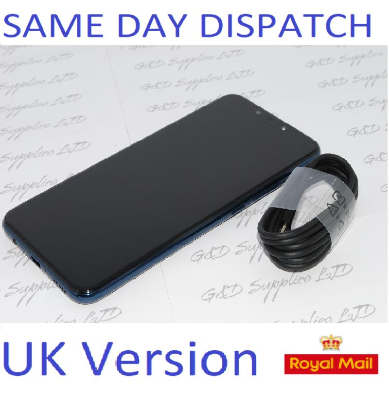 "Huawei Mate 20 Lite 6.3"" 64GB  24MP Dual AI Cameras UNLOCKED Blue NFC New condition NO BOX"