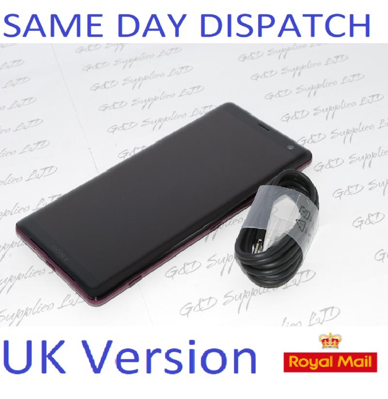 Sony Xperia XZ3 64GB SIM Free Unlocked Red UK Smartphone  Single-SIM NO BOX #