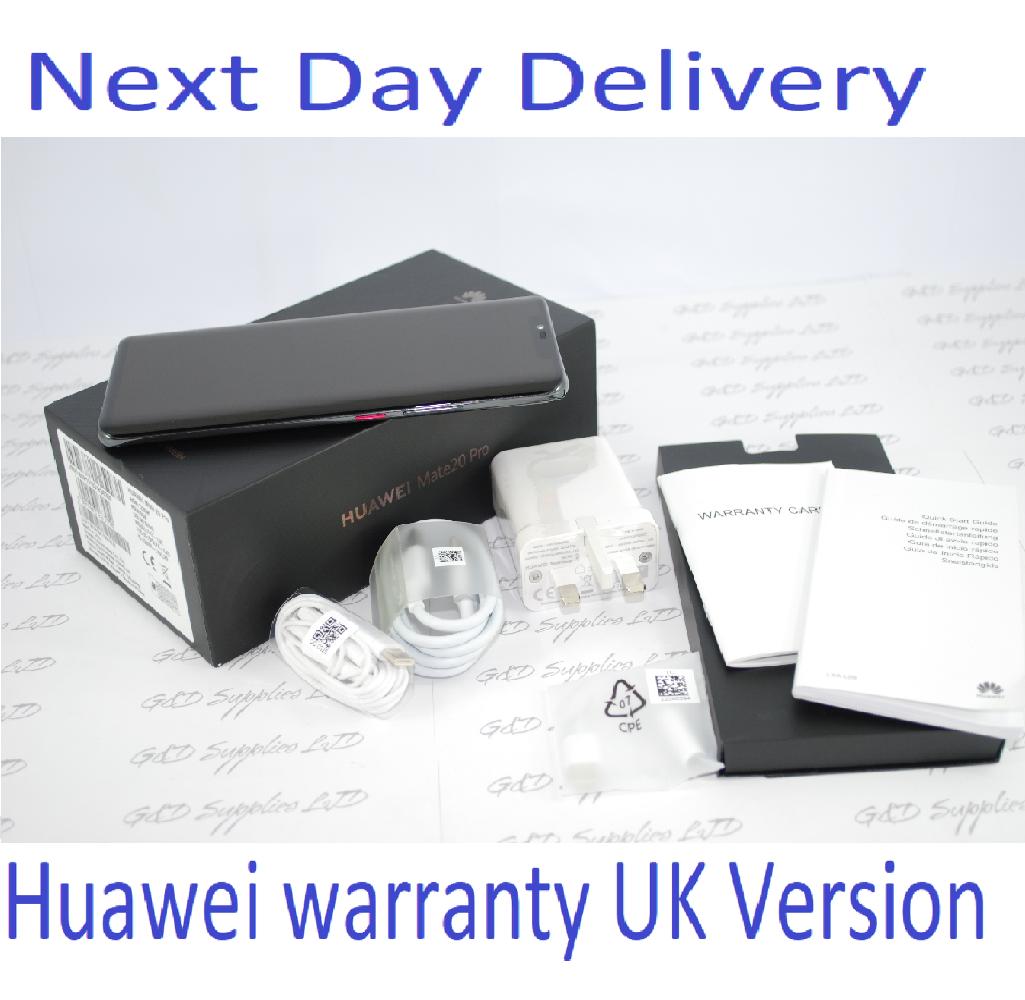 HUAWEI Mate 20 Pro 128gb Black Single Sim UNLOCKED UK Stock #