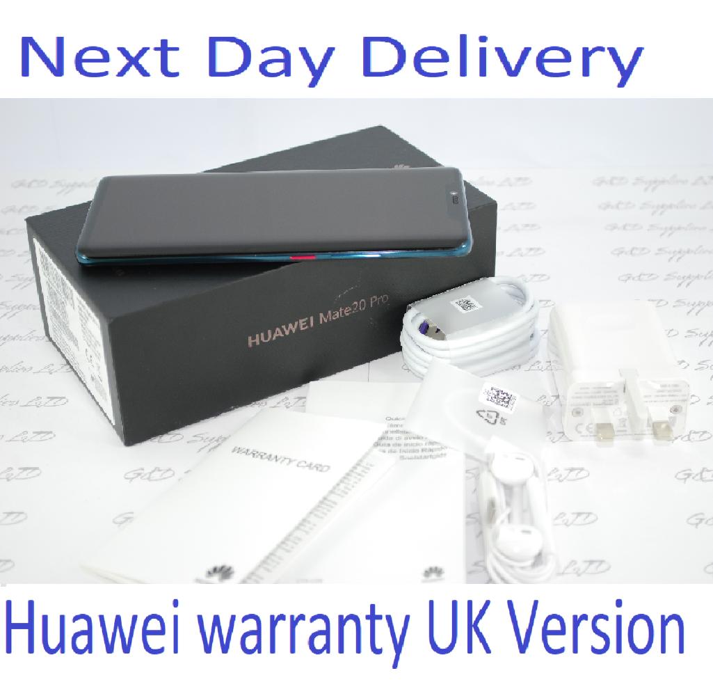 HUAWEI Mate 20 Pro 128GB Green Single Sim UNLOCKED UK Stock #