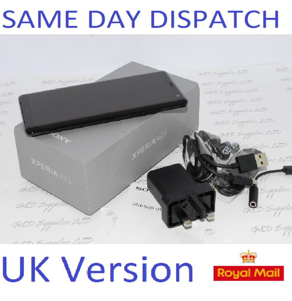 Sony Xperia XZ3 64GB SIM Free Unlocked UK Smartphone  Single-SIM #