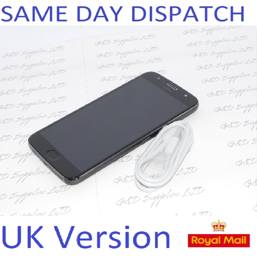 "Motorola G5S Plus Lunar Grey 5.5"" 32GB 4G Unlocked  SIM Free UK stock NO BOX"